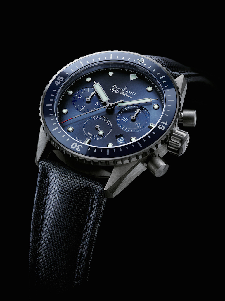 Blancpain Fifity Fathoms Ocean Commitment Bathyscaphe Flyback Chronograph