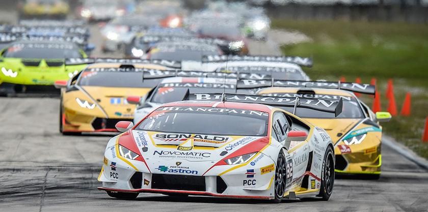 Lamborghini Blancpain Super Trofeo World Final 2015 at Sebring International Raceway
