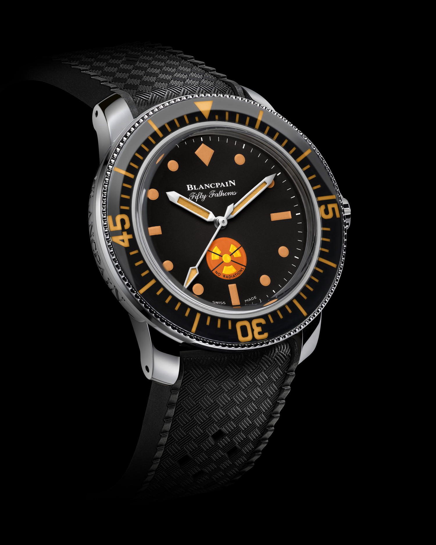 Blancpain Tribute to Fifty Fathoms watch for Only Watch 2021