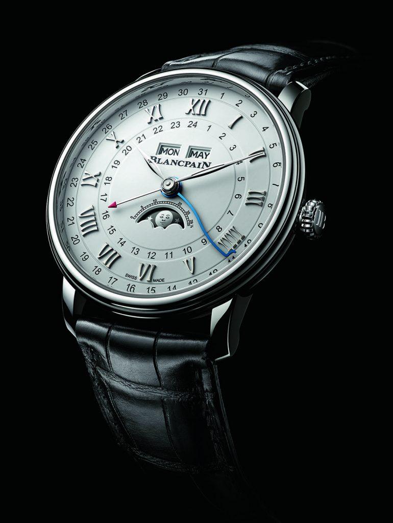 Blancpain Villeret Complete Calendar GMT Watch