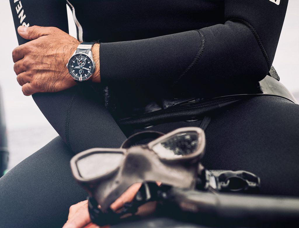 Ulysse Nardin Blue Diver Chronometer
