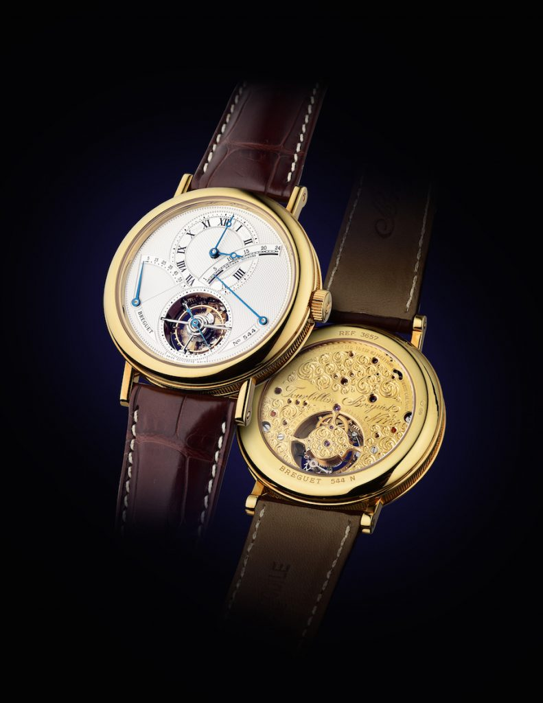 Breguet Tourbillon sold at the recent Fortuna summer auction.