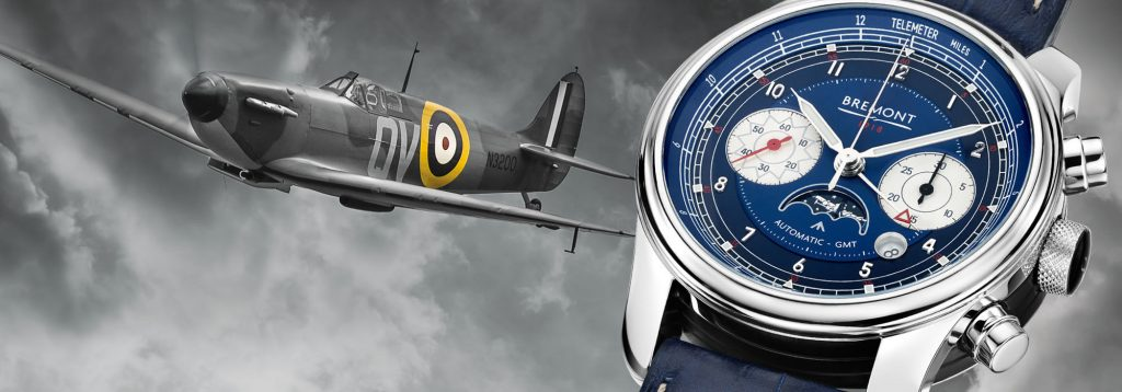 Bremont 1918 watch celebrates 100 years of the RAF.