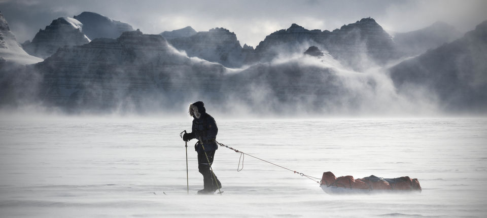 Ben Saunders on his polar expedition -- wearing Bremont
