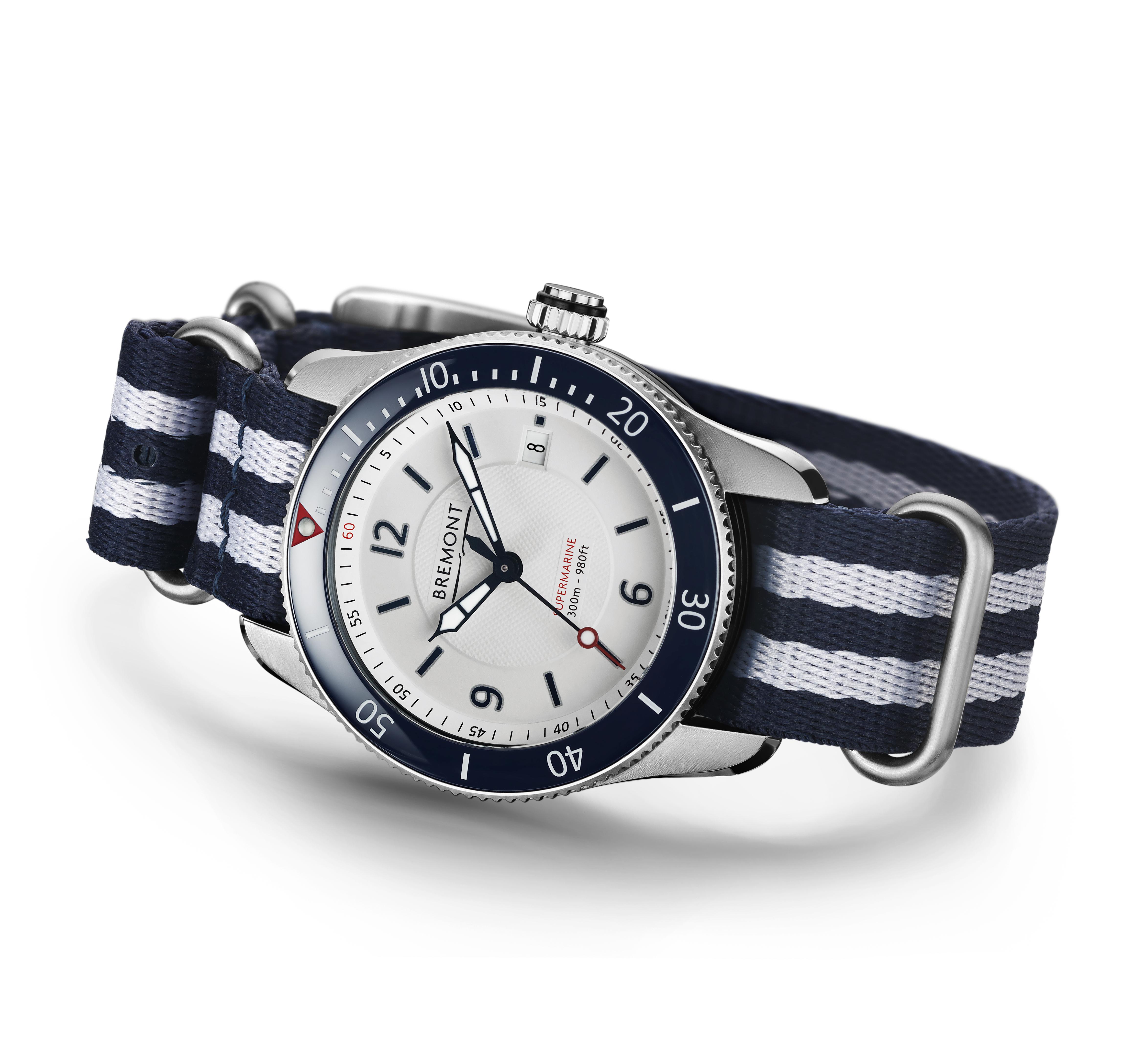 Bremont S300 white watch
