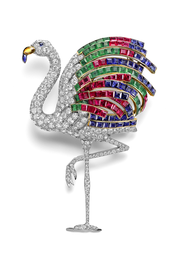 Brooch once belonging to the Duchess of Windsor.