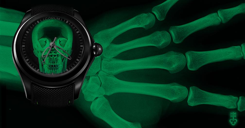 Corum Bubble X Ray watch