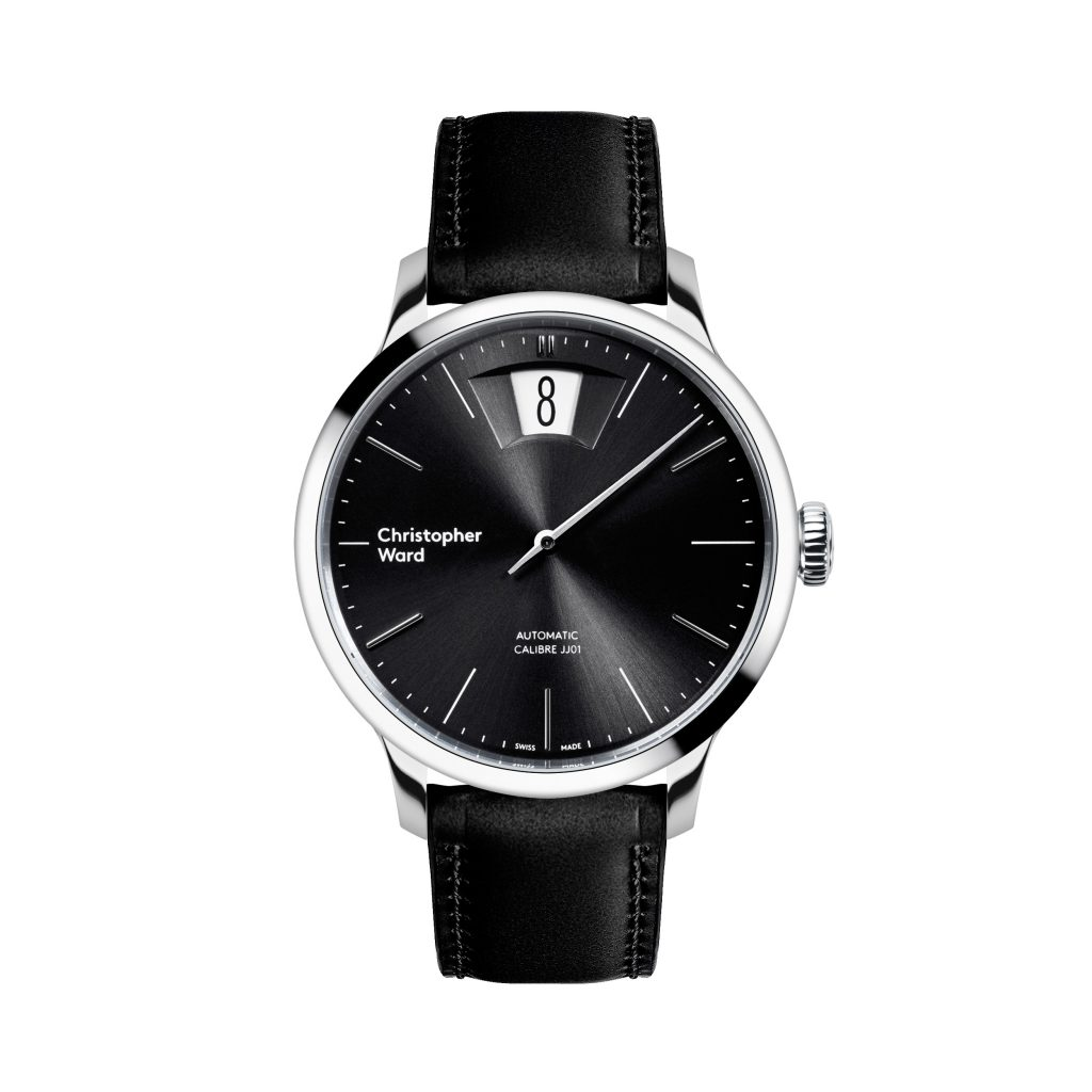 The Christopher Ward C1 Malvern Jumping Hour watch is offered three versions.