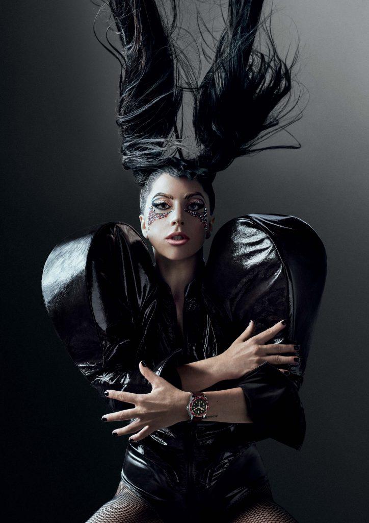 "Lady Gaga Joins Tudor ""Born to Dare"" campaign as brand ambassador."