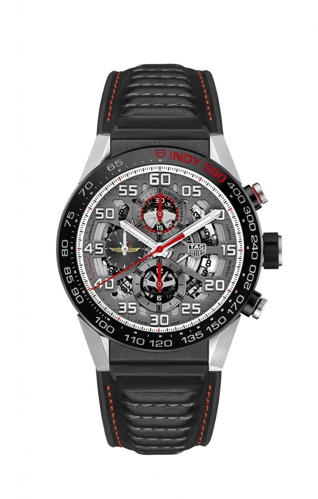 TAG Heuer special edition Indy 500 Caliber Heuer 01 Automatic Chronograph, 2017