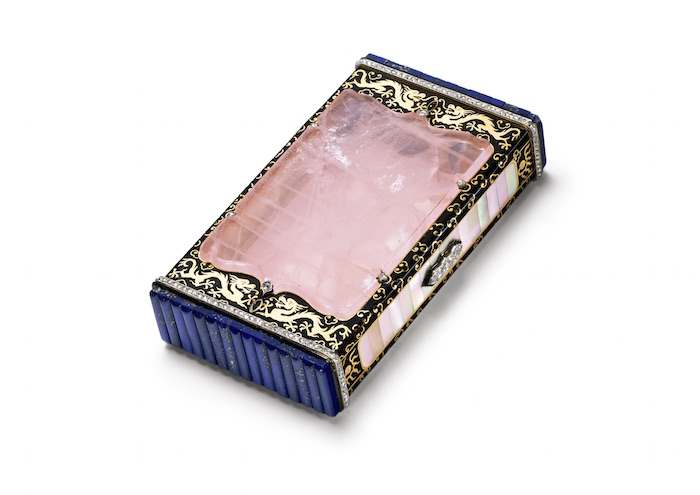 Cartier Cigarette Case, Cartier Paris, 1927. Photo: Nick Welsh, Cartier Collection @ Cartier.