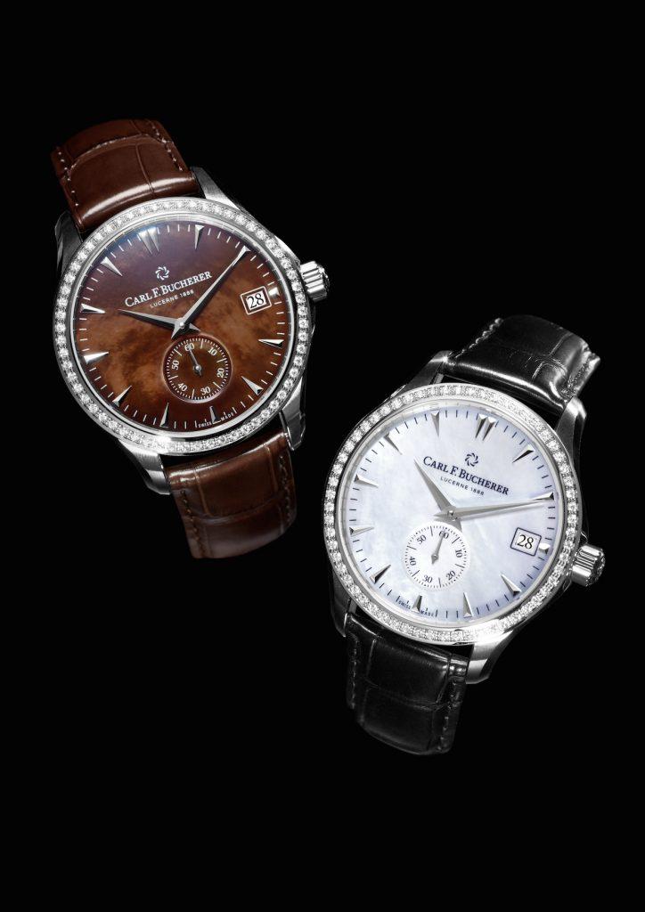 Carl F. Bucherer Manero Peripheral watch for women, Baselworld 2017.