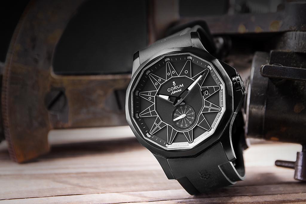Corum Admiral Legend 42 Full Black