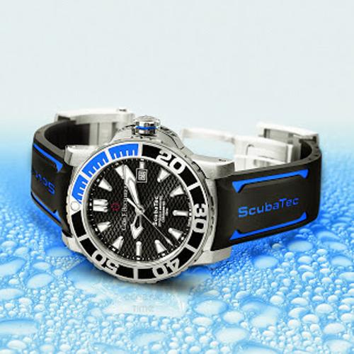 The Carl F Bucherer Patravi ScubaTec is the brand's first dive watch.