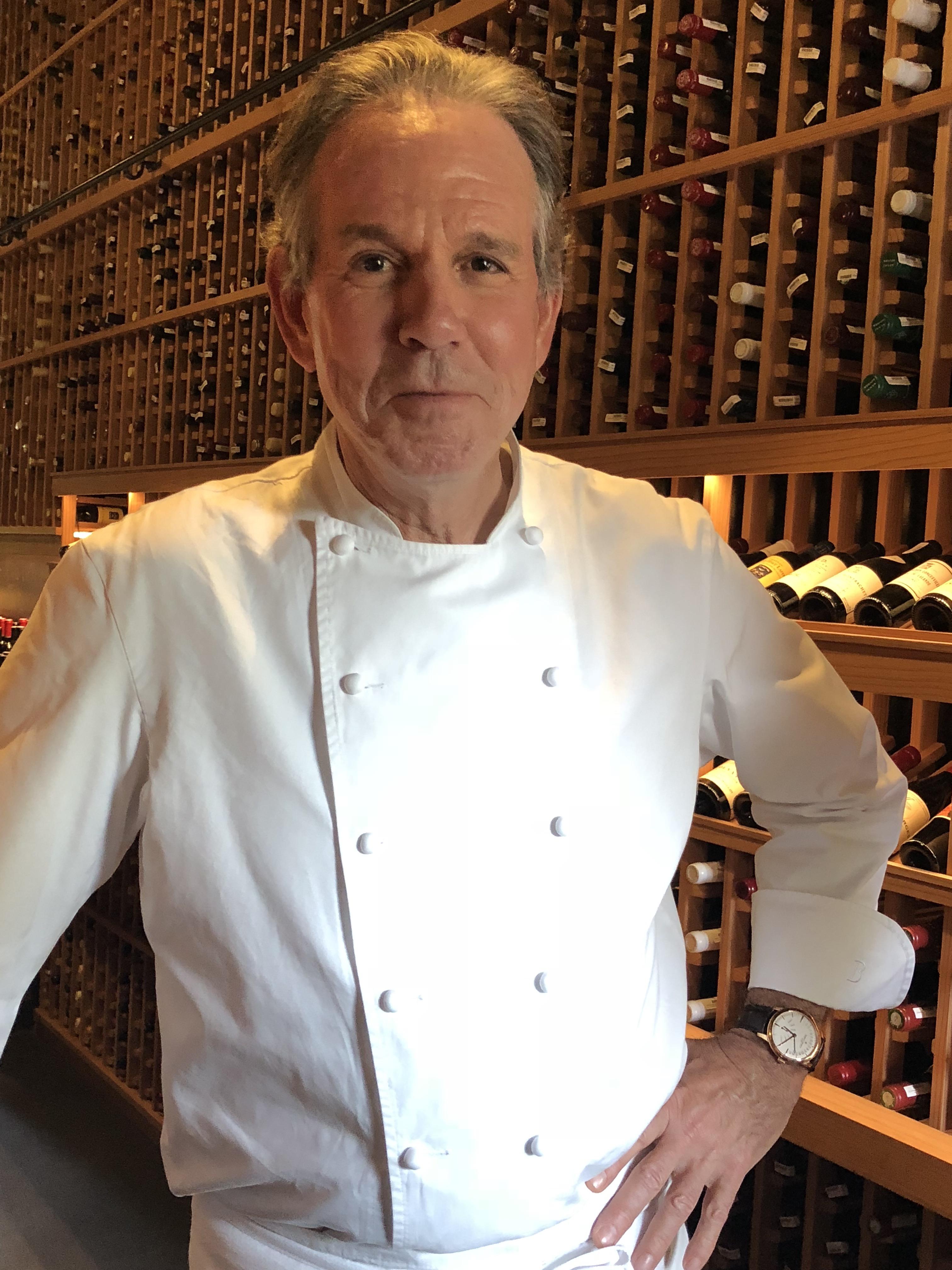 Chef Thomas Keller wears Vacheron Constantin