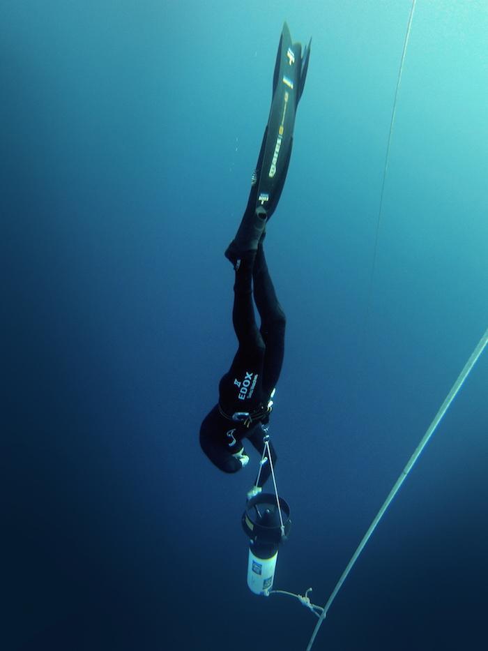 Christian Redl Free-Diving