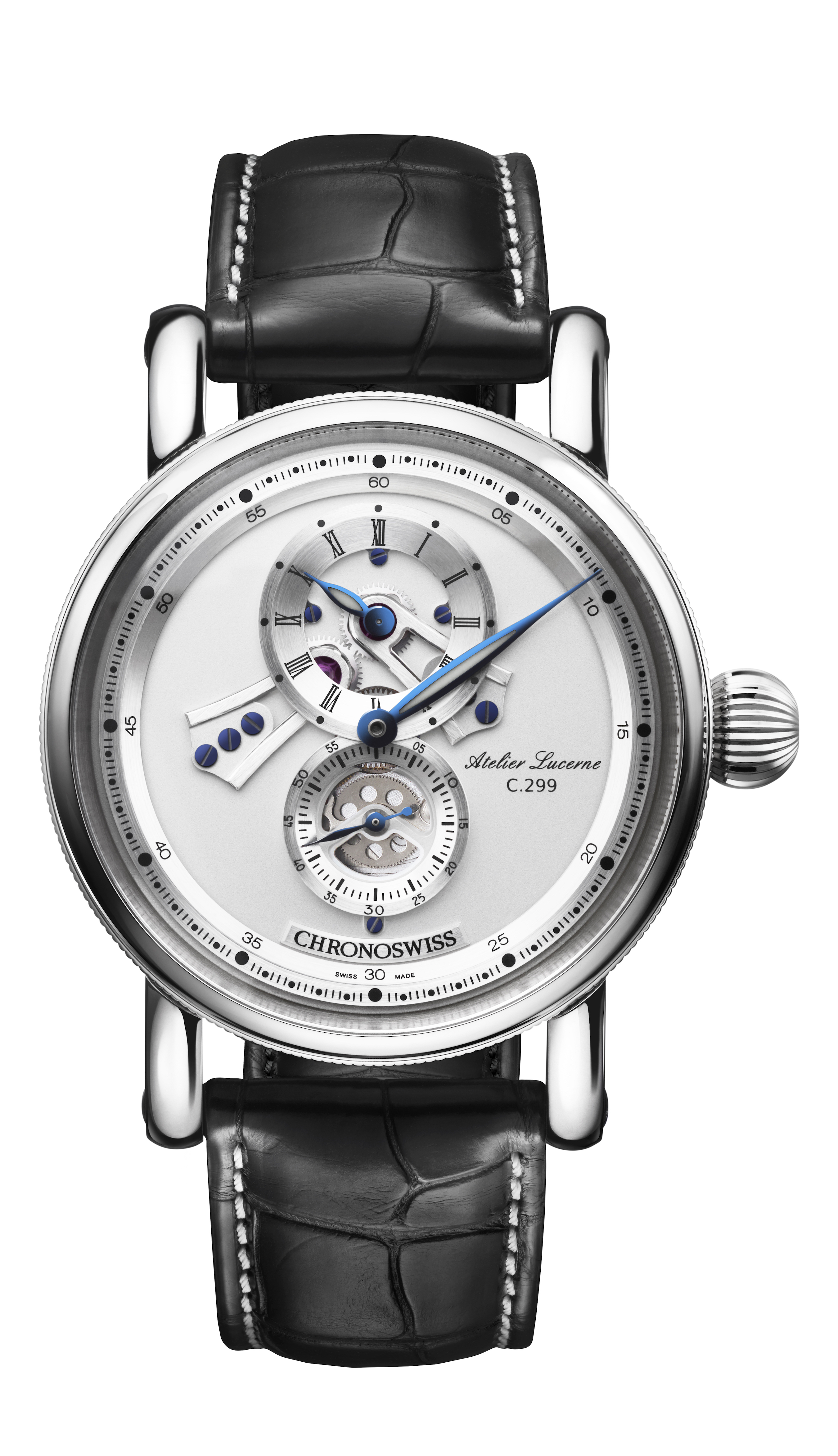Chronoswiss Flying Regulator Open Gear watch retails for just about $6,500.