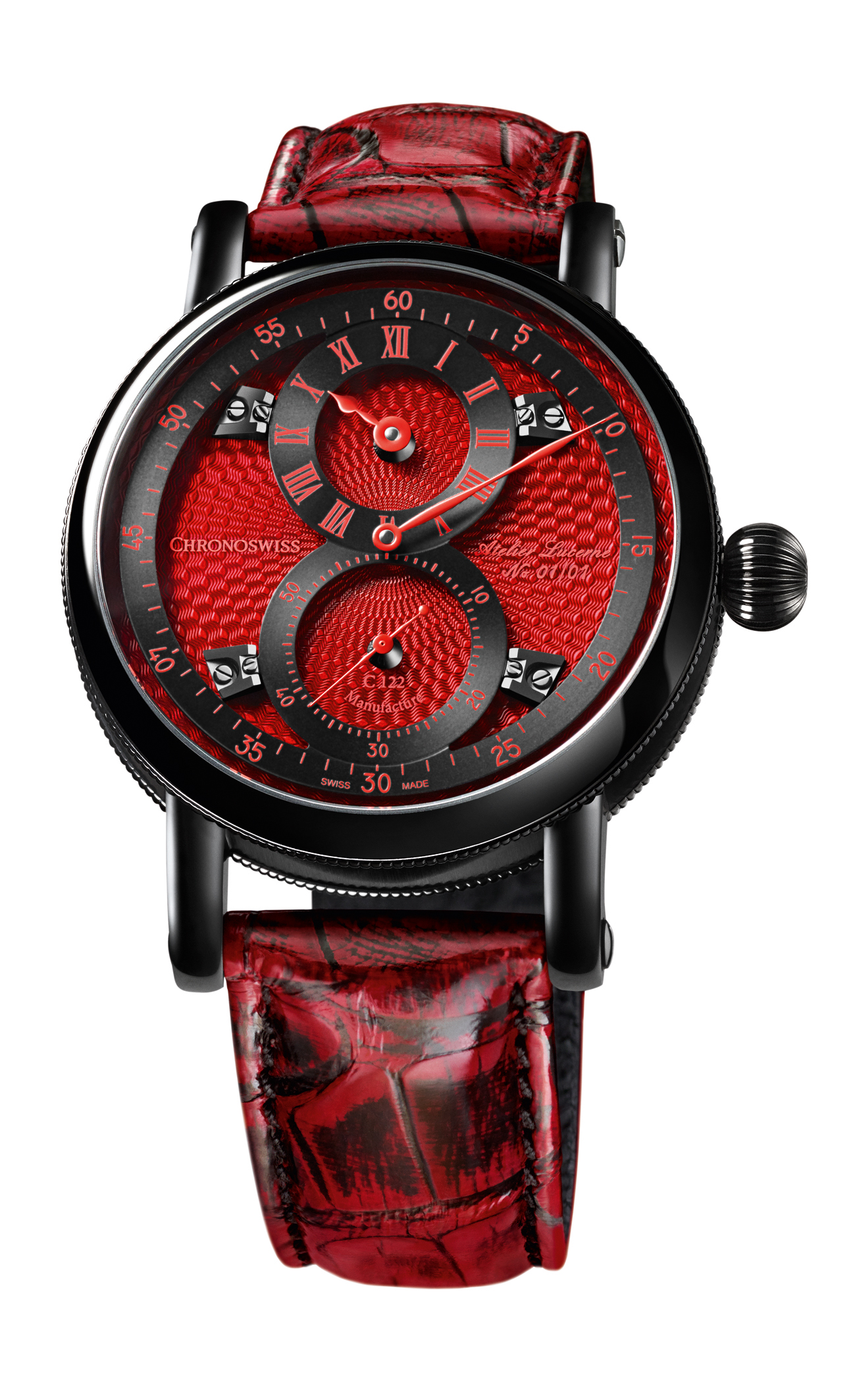 Chronoswiss Flying Regulator Red Passion For Only Watch 2017
