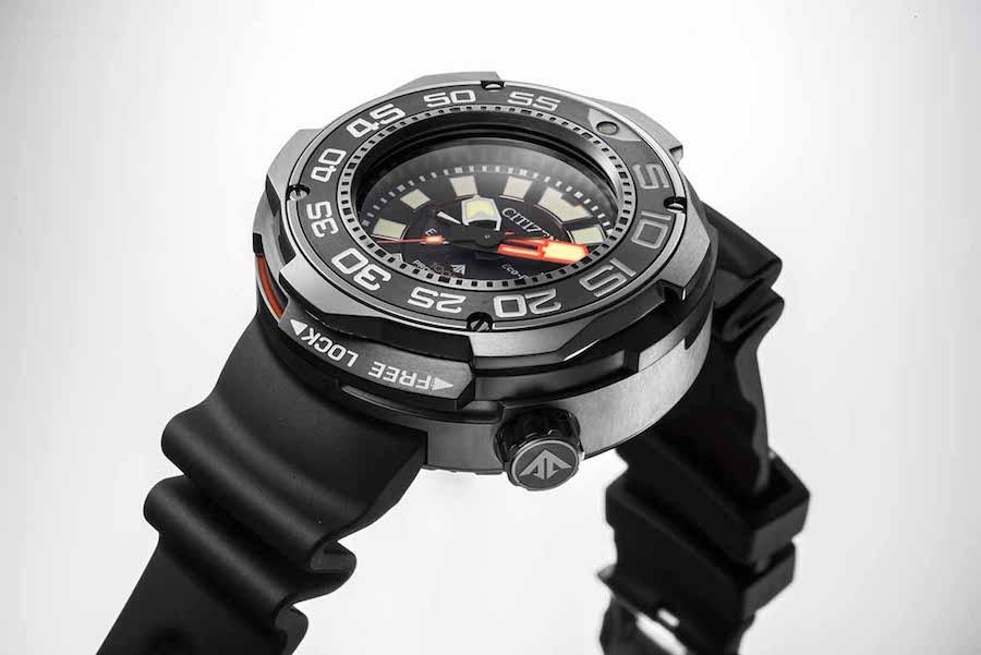 Citizen Light-Powered 1000M Dive Watch