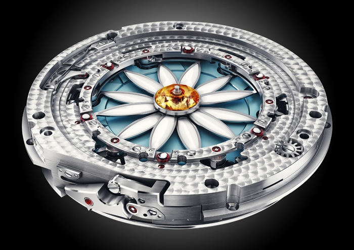 The complex movement of the Margot consists of more than 700 parts.