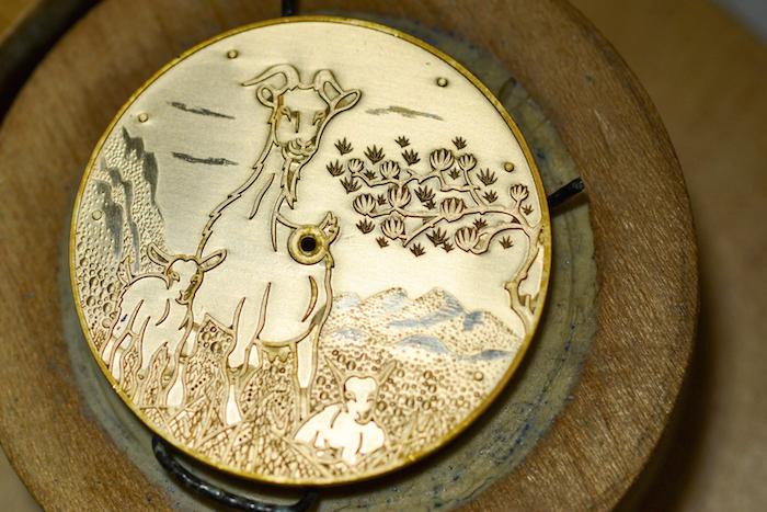 Ulysse Nardin dial engraving
