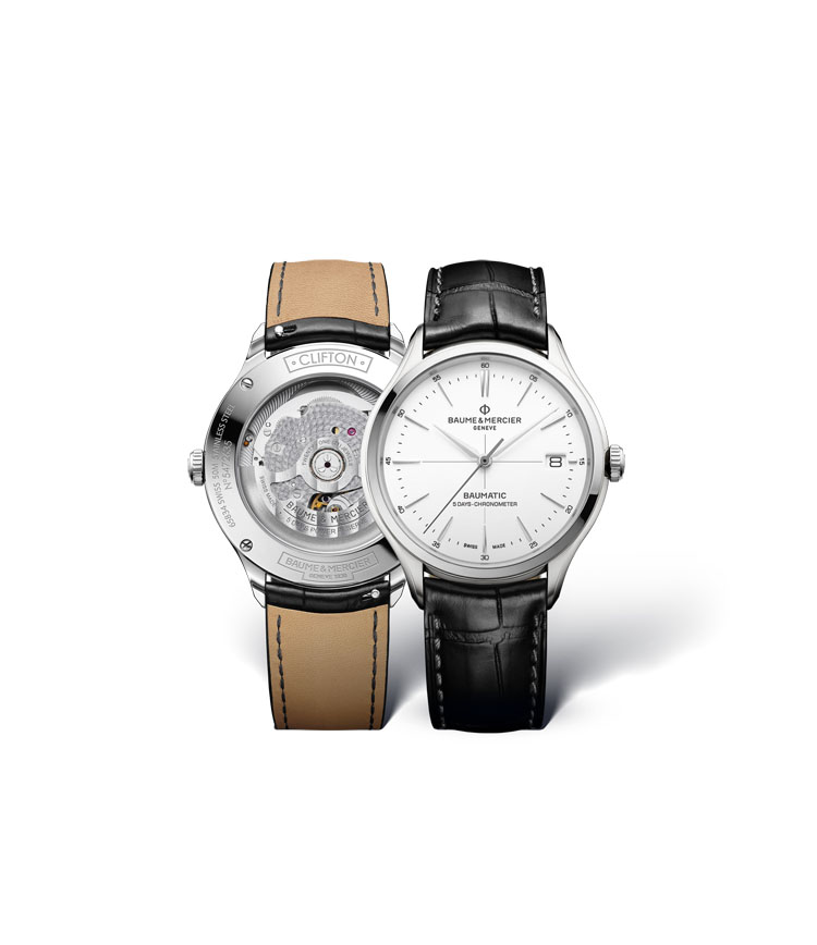 Baume & Mercier Clifton Baumatic(TM) COSC-certified chronometer