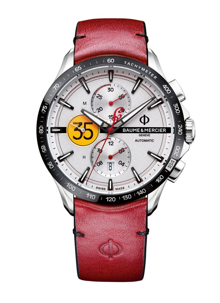Baume & Mercier / Indian Motorcycle: Clifton Club Burt MunroLimited Edition