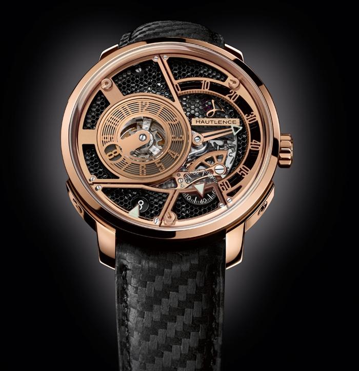 Hautlence  HLQ-03 is the watch of choice for Eric Cantona