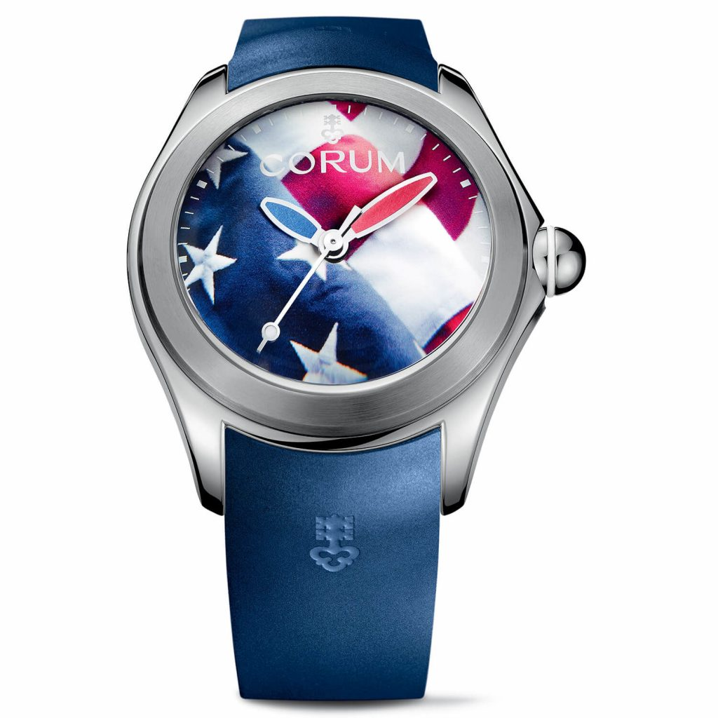 Corum Big Bubble 52 Flag watch.