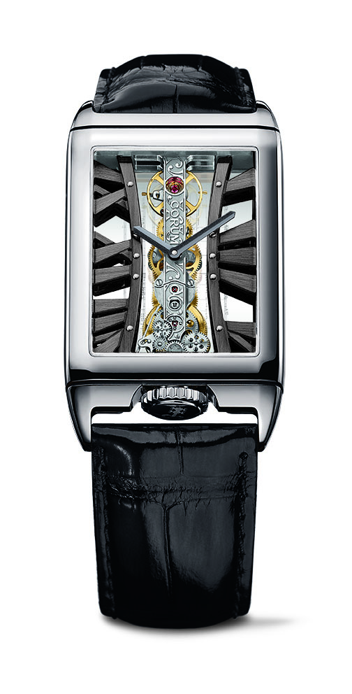 Corum Golden Bridge Rectangle Joachim Horsley watch
