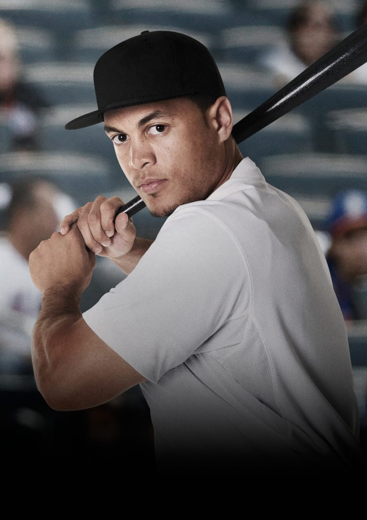 Giancarlo Stanton, Miami Marlins Right Fielder and TAG Heuer brand ambassador.