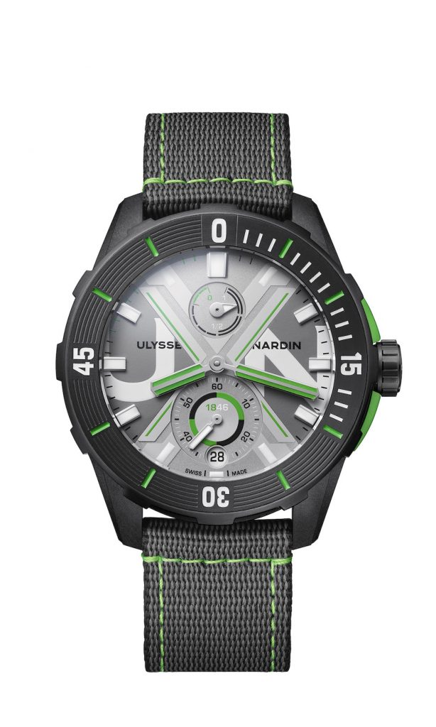 Ulysse Nardin Diver Net Concept Watch