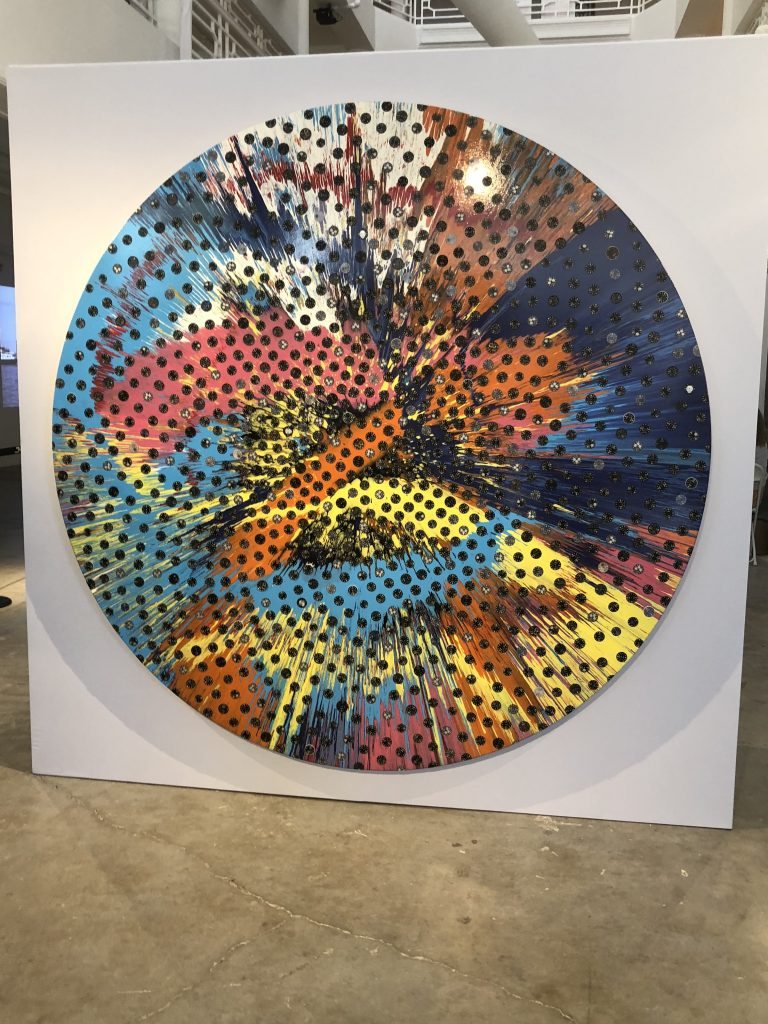 Damien Hirst art piece for Panerai