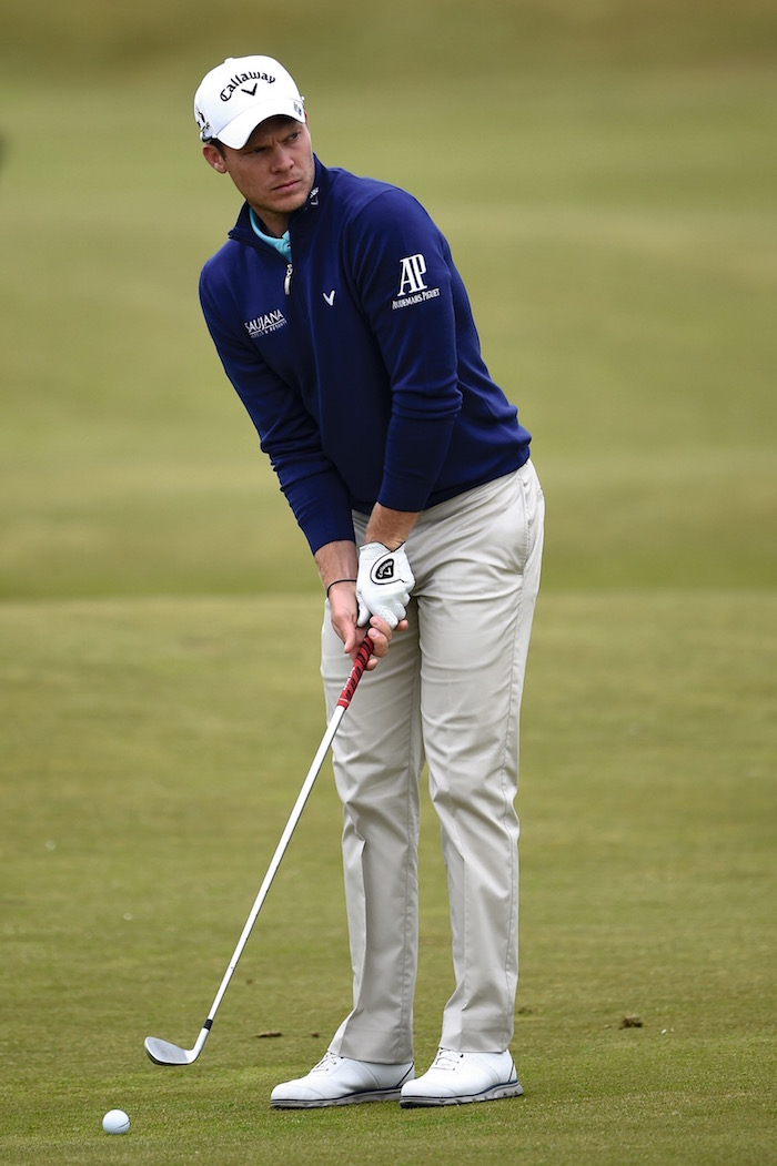Ahead of the 144th Open Championship at The Old Course on July 14, 2015 in St Andrews, Scotland.