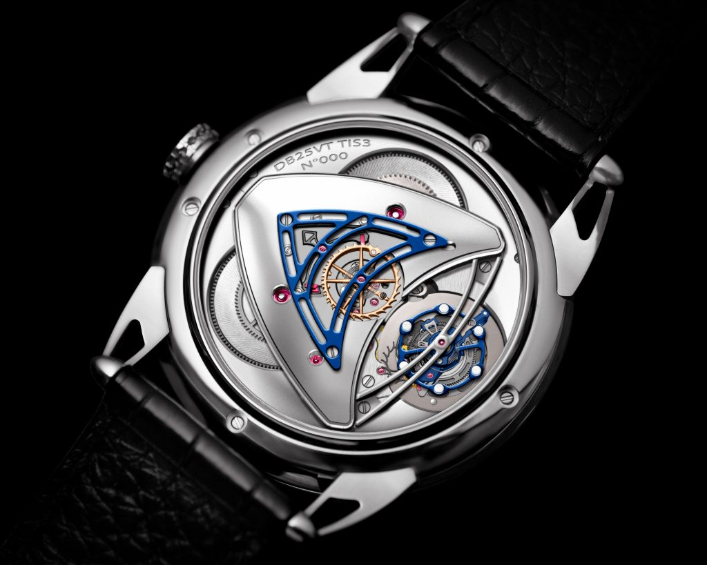 DeBethune DB25 Starry Varius Chronomètre Tourbillon wins GPHG 2018 Chronometry prize.