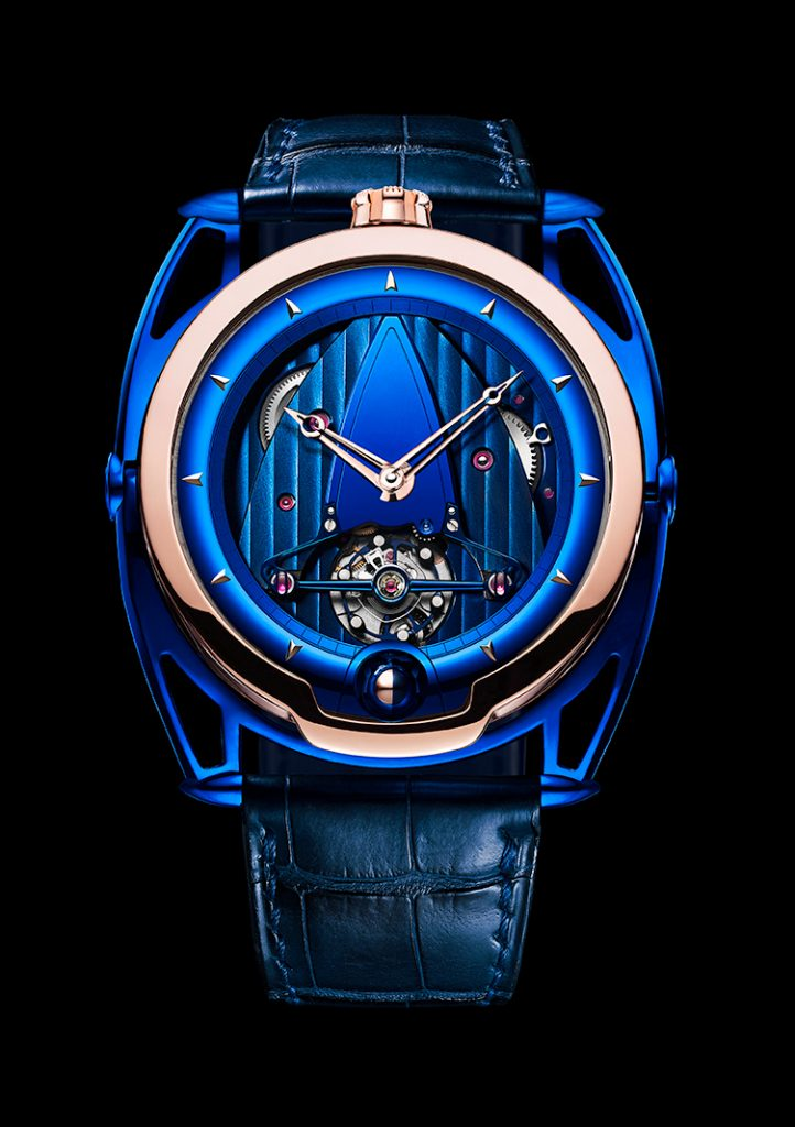 DeBethune DB 28 USA exclusive watch launched at Watches & Wonders Miami.