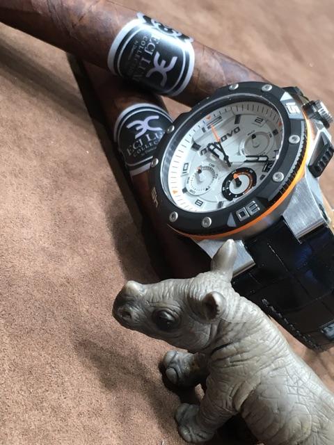 DeNovo watch, courtesy of ECJ Boutique-Diamond Direct in Charlotte, NC