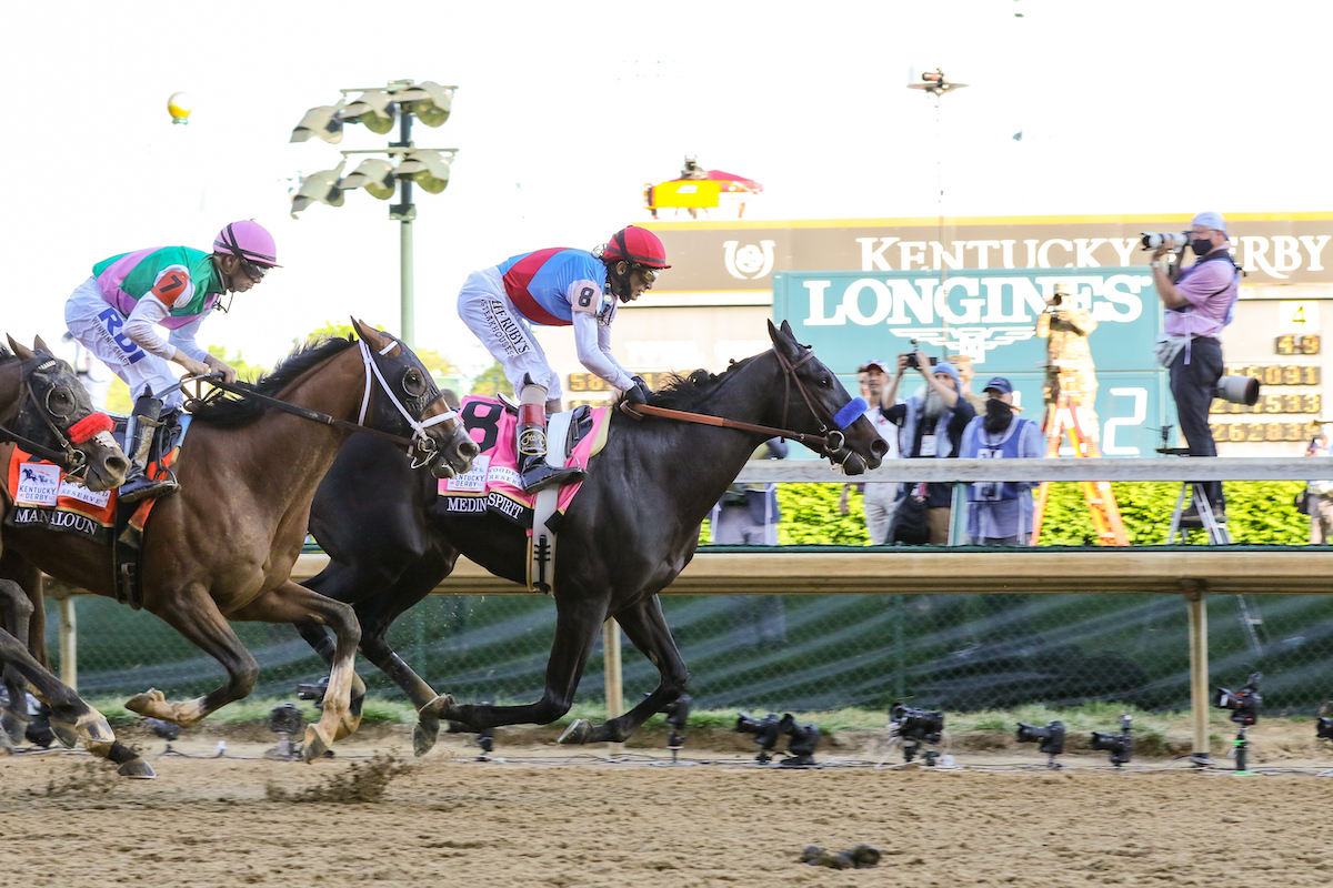 Longines timed the 147th Kentucky Derby.