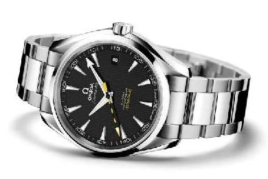 Omega's new anti-magnetic movement is fitted into the Seamaster Aqua Terra