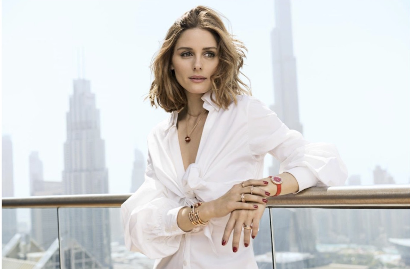 Olivia Palermo, shot on location in Dubai by Sebastian Kim for the new Piaget Possession campaign.