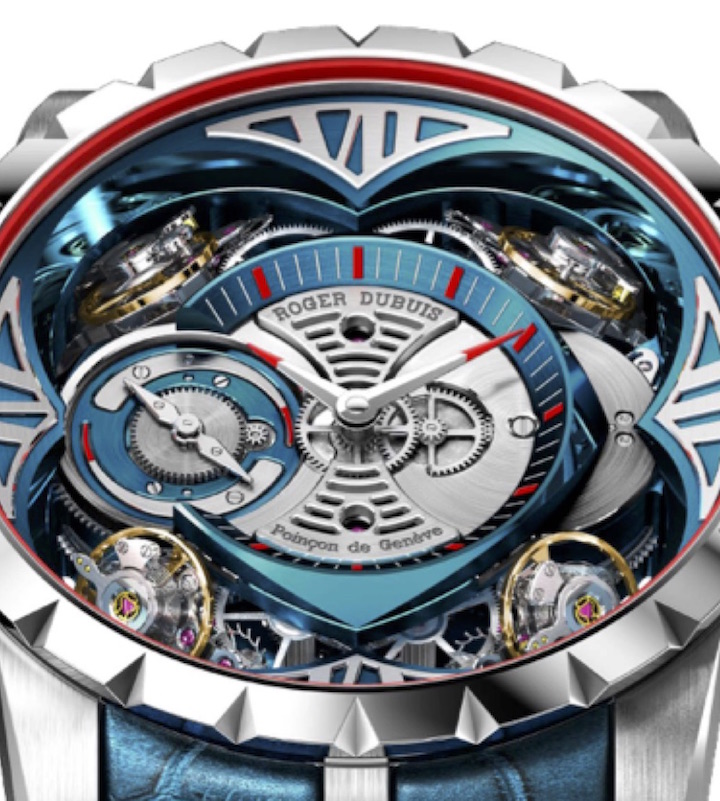 The cobalt is achieved via a rare MicroMelt(R) procedure and is used in less than 1 percent of the world's metallurgy. The watch retails for more than $350,000.