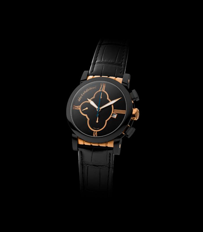 Dubey & Schaldenbrand Grand Shar Black Element watch