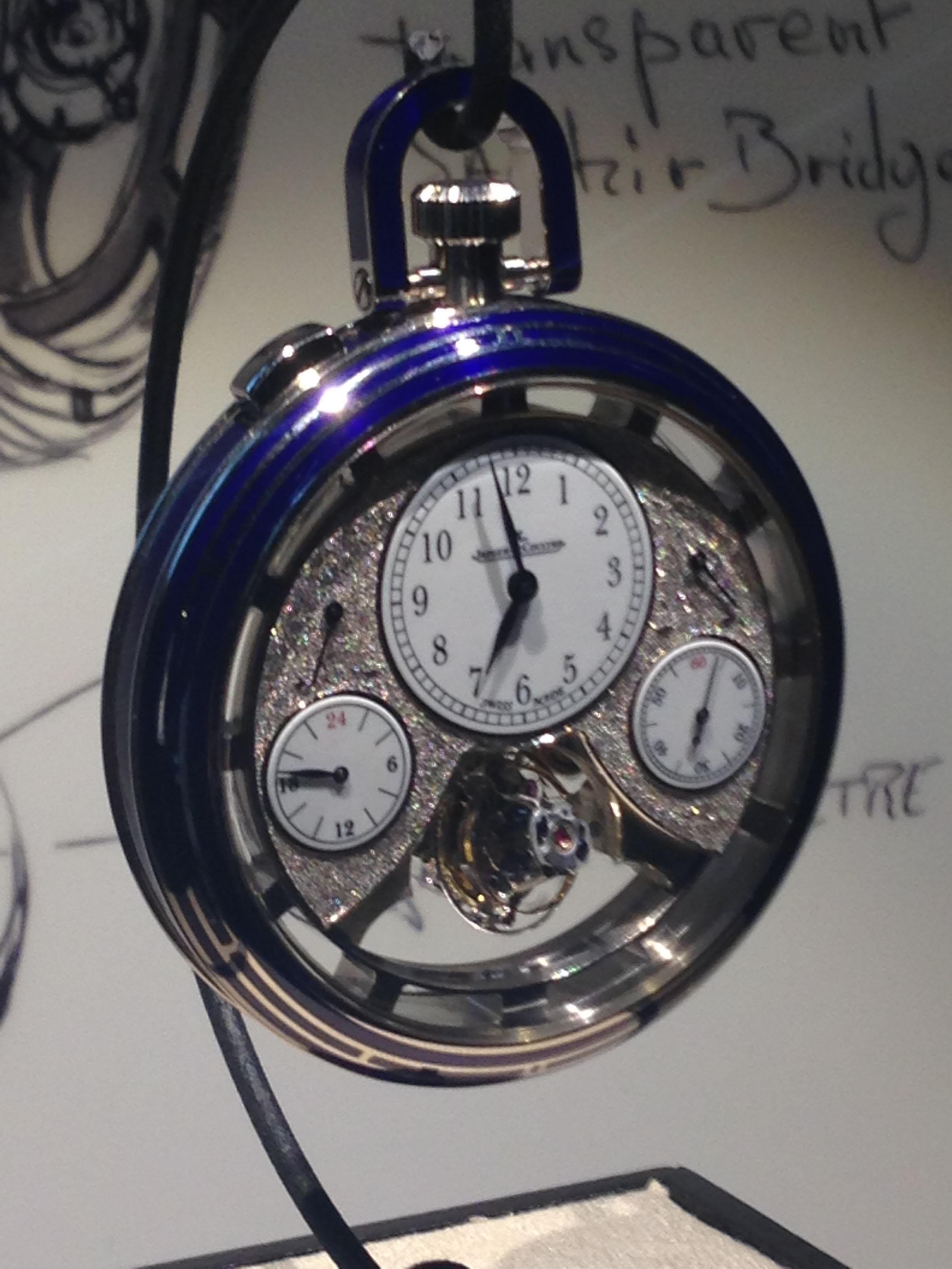 Jaeger-LeCoultre Hybris Artistica Duometre Spherotourbillon Pocket watch
