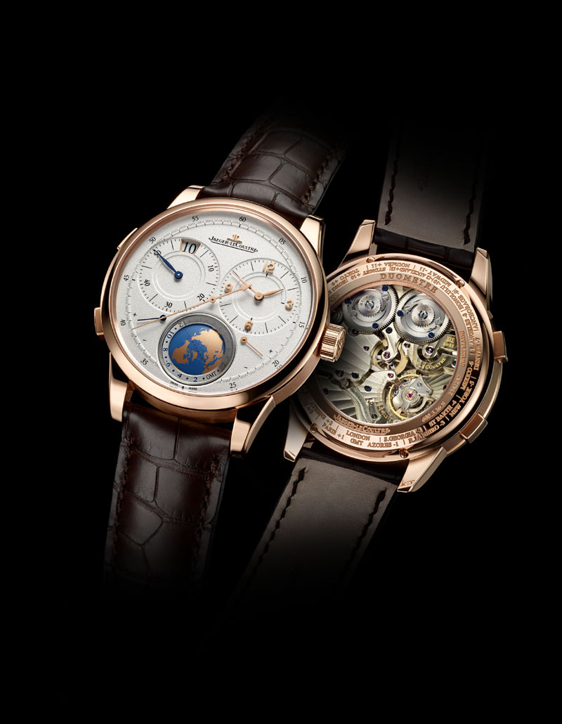 Jaeger-LeCoultre Duometre Uniqie TravelTime in 18-karat rose gold
