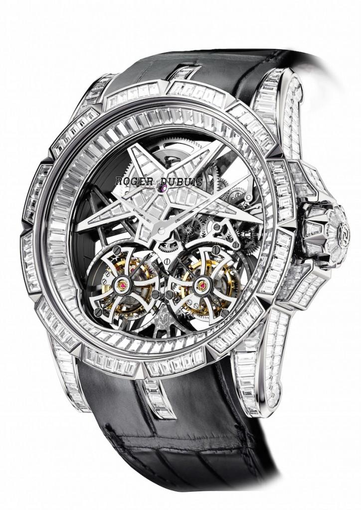 Excalibur Star of Infinity Baguette watch