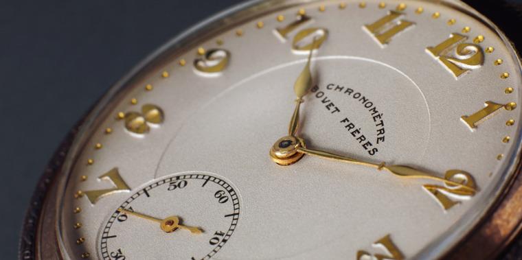Bovet 1930 Easel Chronometer