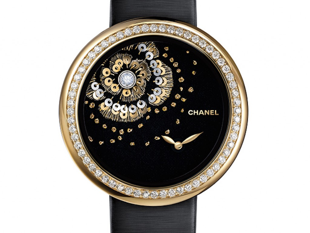 Chanel Mademoiselle Prive' floral dial