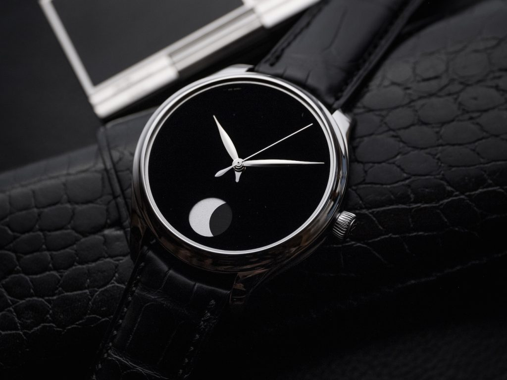 H. Moser & Cie Endeavour Perpetual Moon Concept watch
