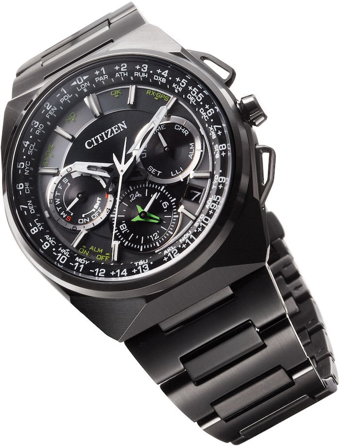 Eco-Drive Satellite Wave F900 in Black