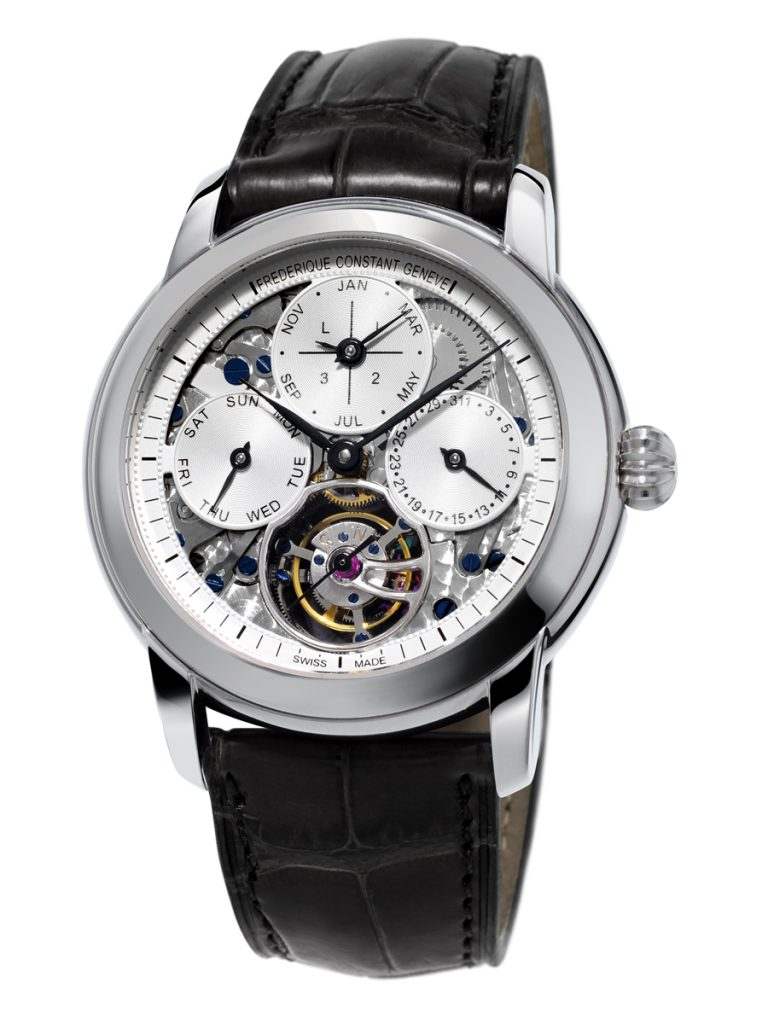 Frederique Constant Perpetual Calendar Tourbillon in honor of the brand's 30th anniversary.